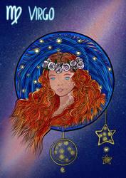 Zodiac-Virgo by sintel16