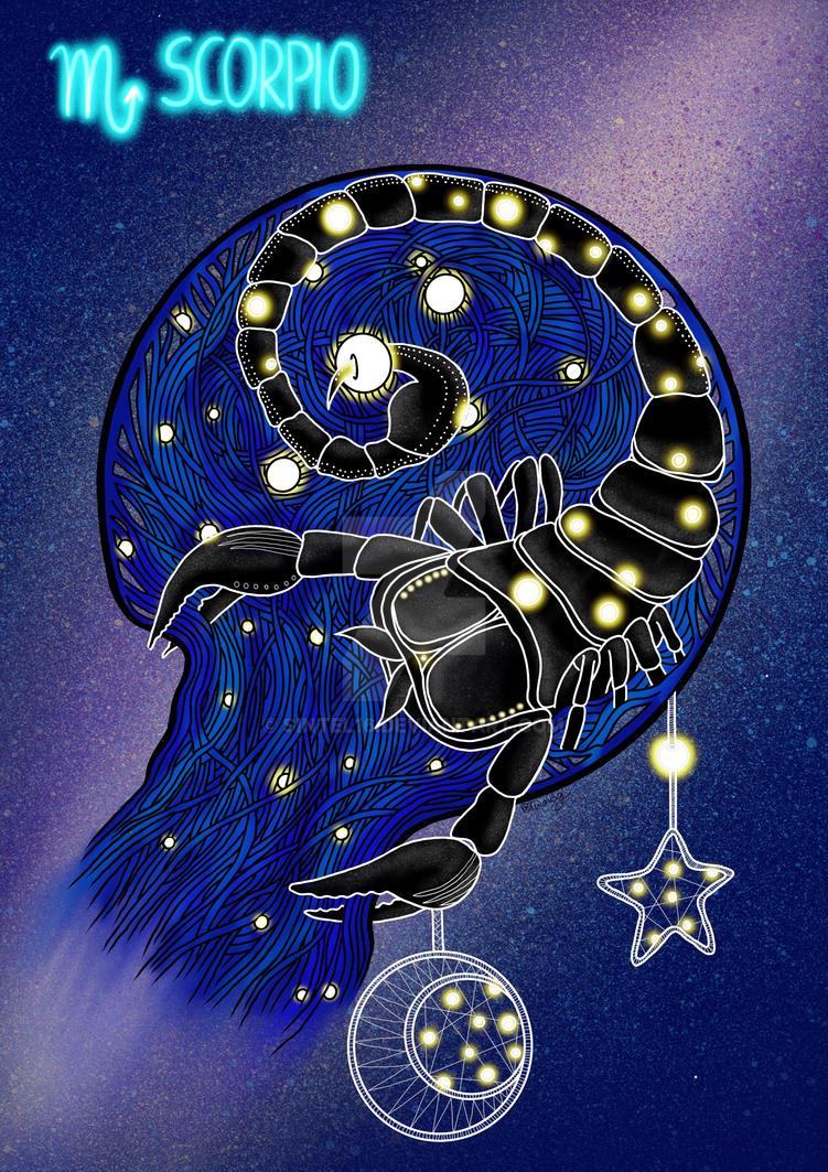 Zodiac-scorpio by sintel16