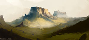 Environment concept art by Narholt