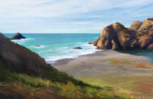 Virtual Plein Air - California, US by Narholt