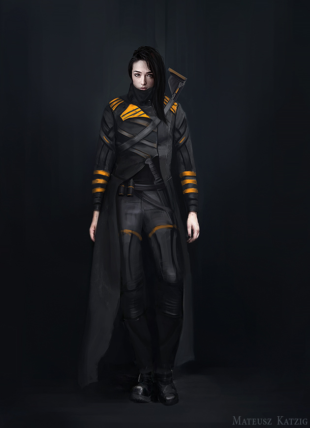 Dystopian character by Narholt