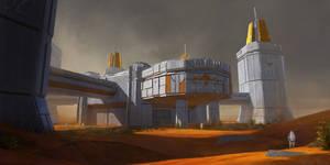 Mars terraforming station