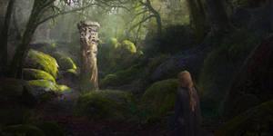 Project Rewind: Svetovid shrine by Narholt
