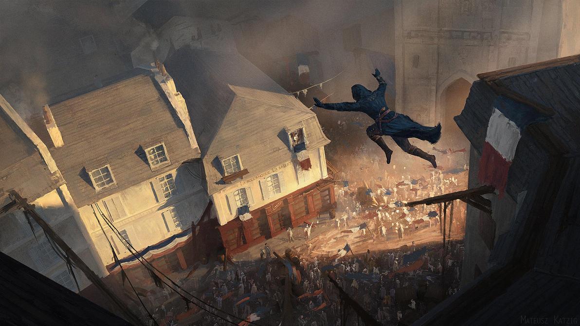 Assassin's Creed: Unity - Bakery raid by Narholt
