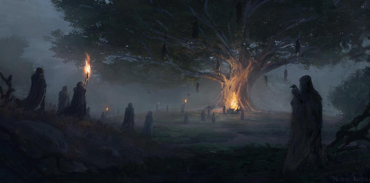 Odin's tree by Narholt