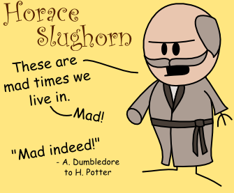 Horace Slughorn OotS-Style by MCSquared42