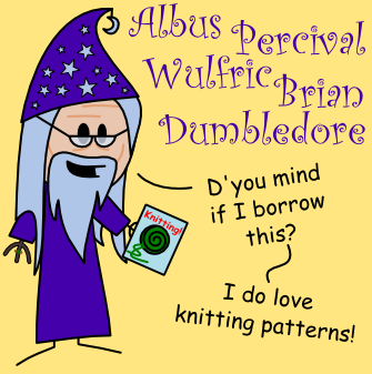 Albus Dumbledore OotS-Style by MCSquared42
