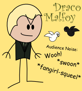 Draco Malfoy OotS-Style by MCSquared42