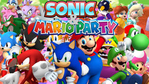 Sonic and Mario Party! (Or Shuffle Party)