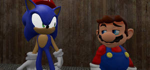 Sonic and Mario's friendship will never end..