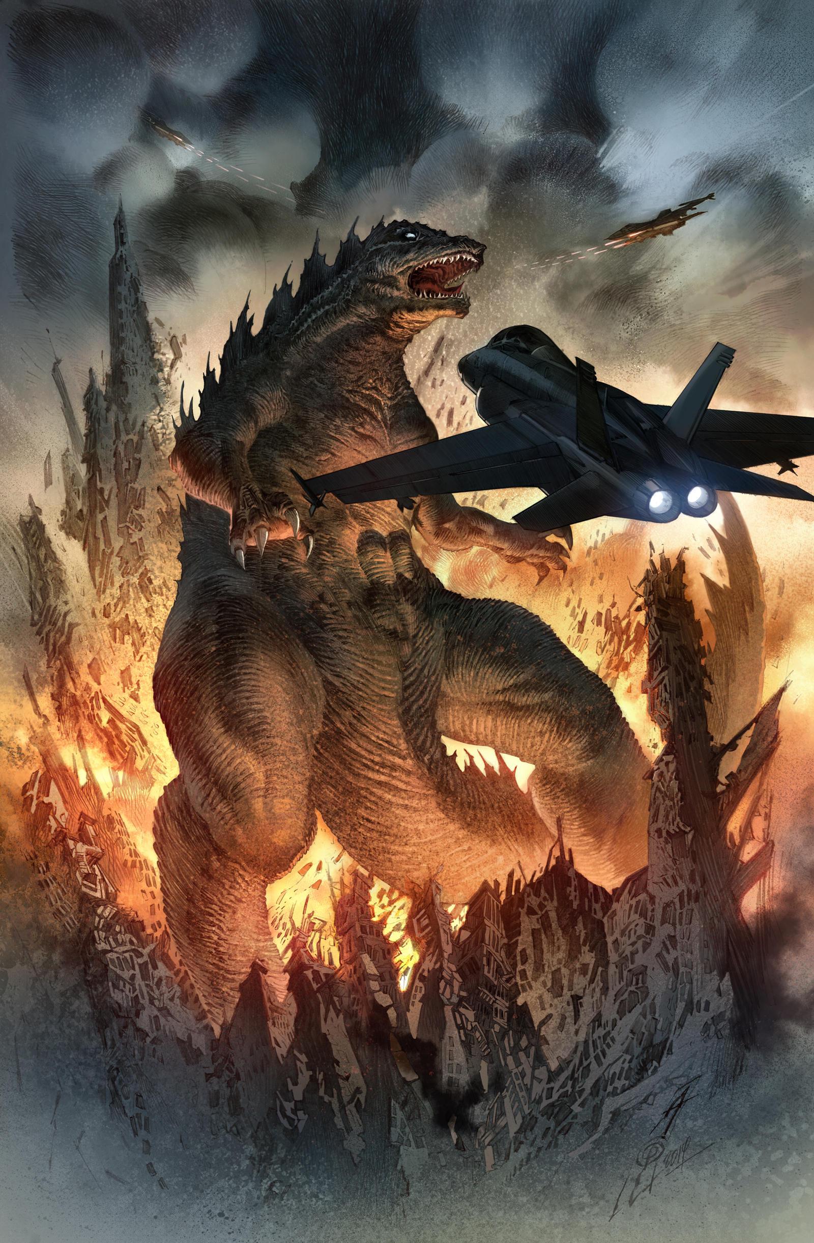 Godzilla Colors