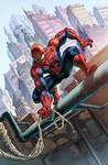 Spiderman Commission Colors