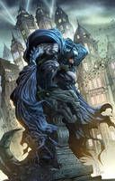 Batman Commission in Color #2 by quahkm