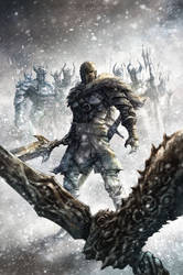Dark Souls : Winter's Spite Cover