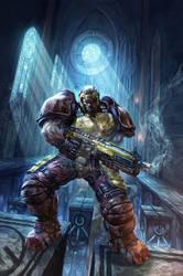 Quake Champions Issue 1 Cover