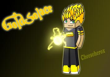 GoldSolace fan art by Cheeseherox