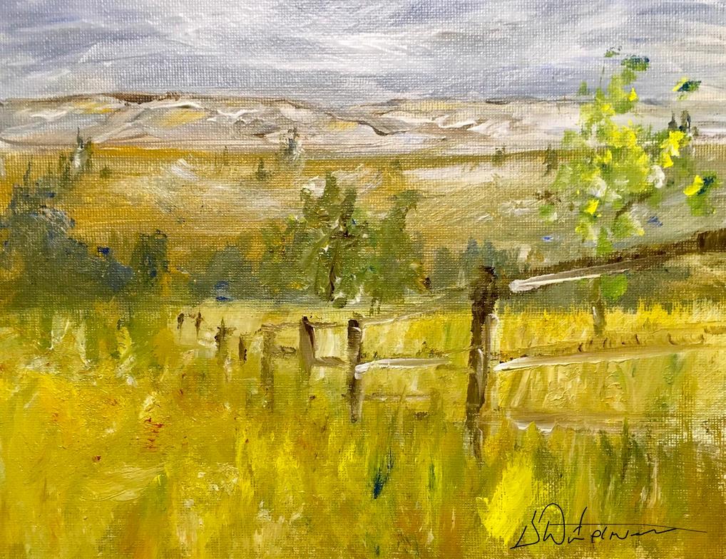 Impressions of Meadows du la Degas by RickWaterman