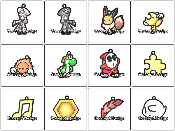Pokemon, Yoshi's Island, Banjo Kazooie Charms! by DivineJayce
