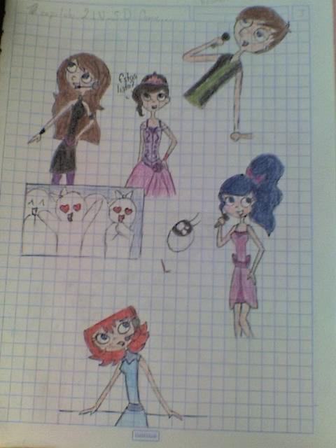 LP- Algunos dibujos by Calypsaly