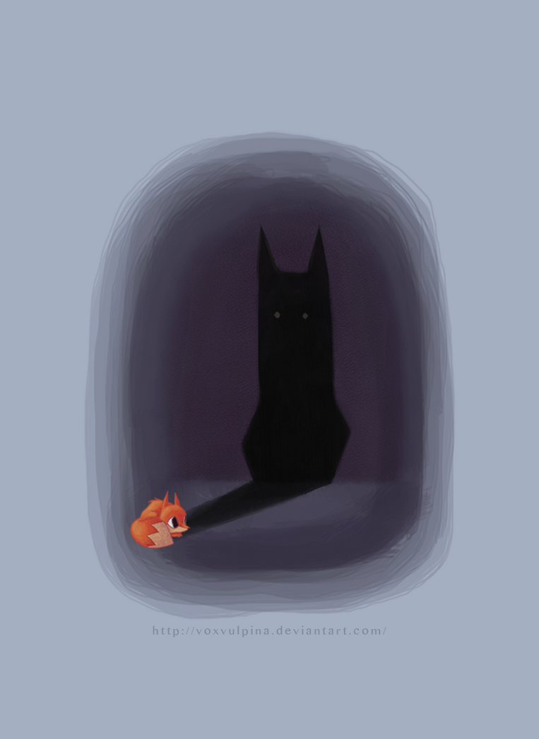 Even a very small fox by VoxVulpina