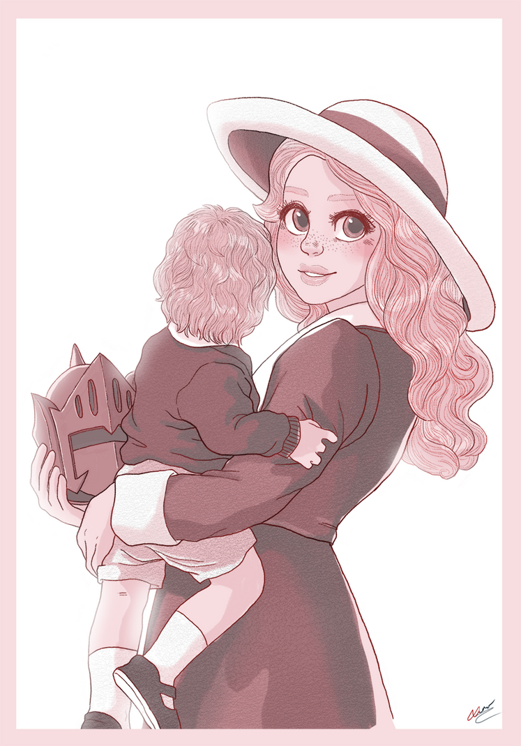 Alisa and Kevin by VoxVulpina