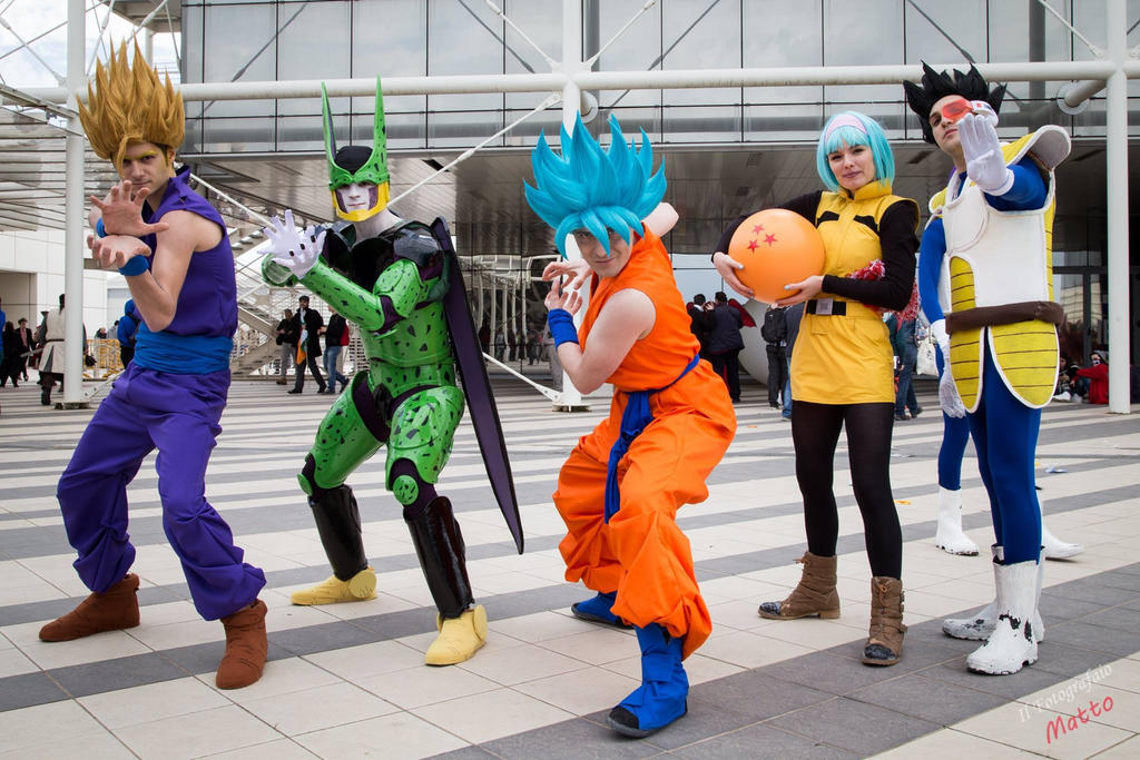 Dragon Ball Group by VoxVulpina