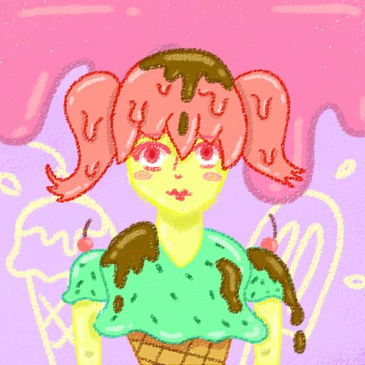 Ice Cream Girl by mellowmargarine
