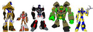 Transformers animated Maximals