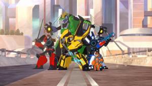 Transformers-RID autobots team