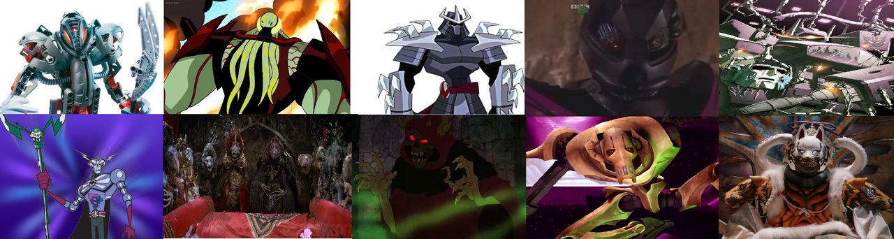 My Top 10 Underrated Villains