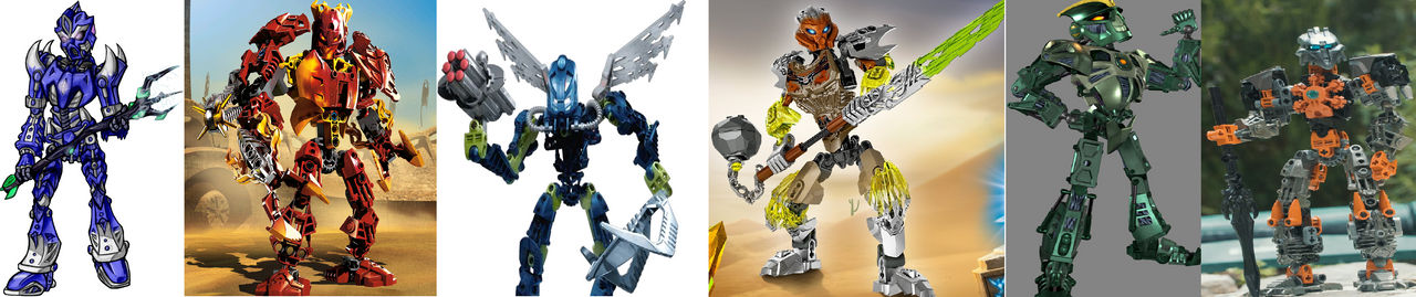 My perfect Toa team(Updated)