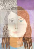 8 Way Self Portrait by JenRichardson