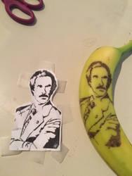Will Ferrell Banana by JenRichardson