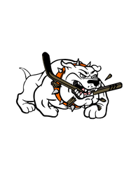 Syracuse Bulldogs Logo from the movie Slap Shot