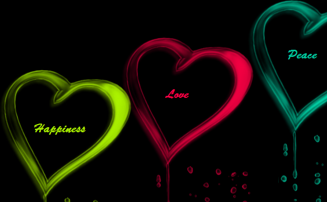 Peace,Love,Happiness by lolart181 on DeviantArt