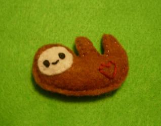 Matt the Sloth by kiddomerriweather