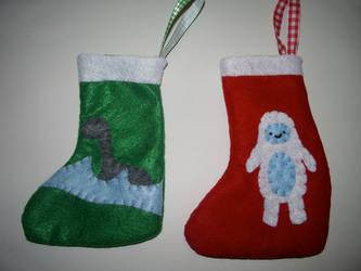 Stockings for My Kitties by kiddomerriweather