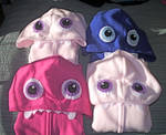 Little Monster Hoodies by kiddomerriweather