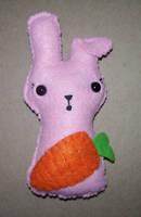 Surprised Bunny is Surprised by kiddomerriweather