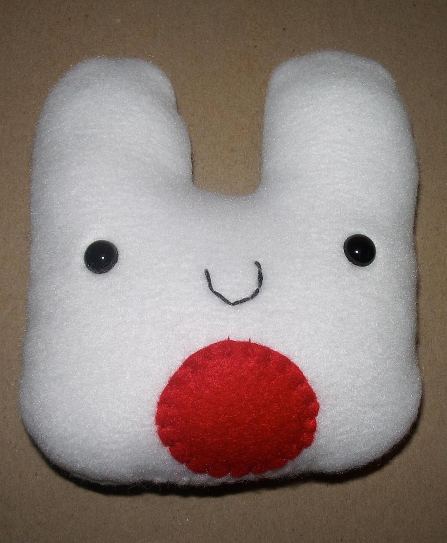 Japan Relief Bun Plushie by kiddomerriweather