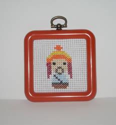 Jayne Cobb Cross Stitch by kiddomerriweather