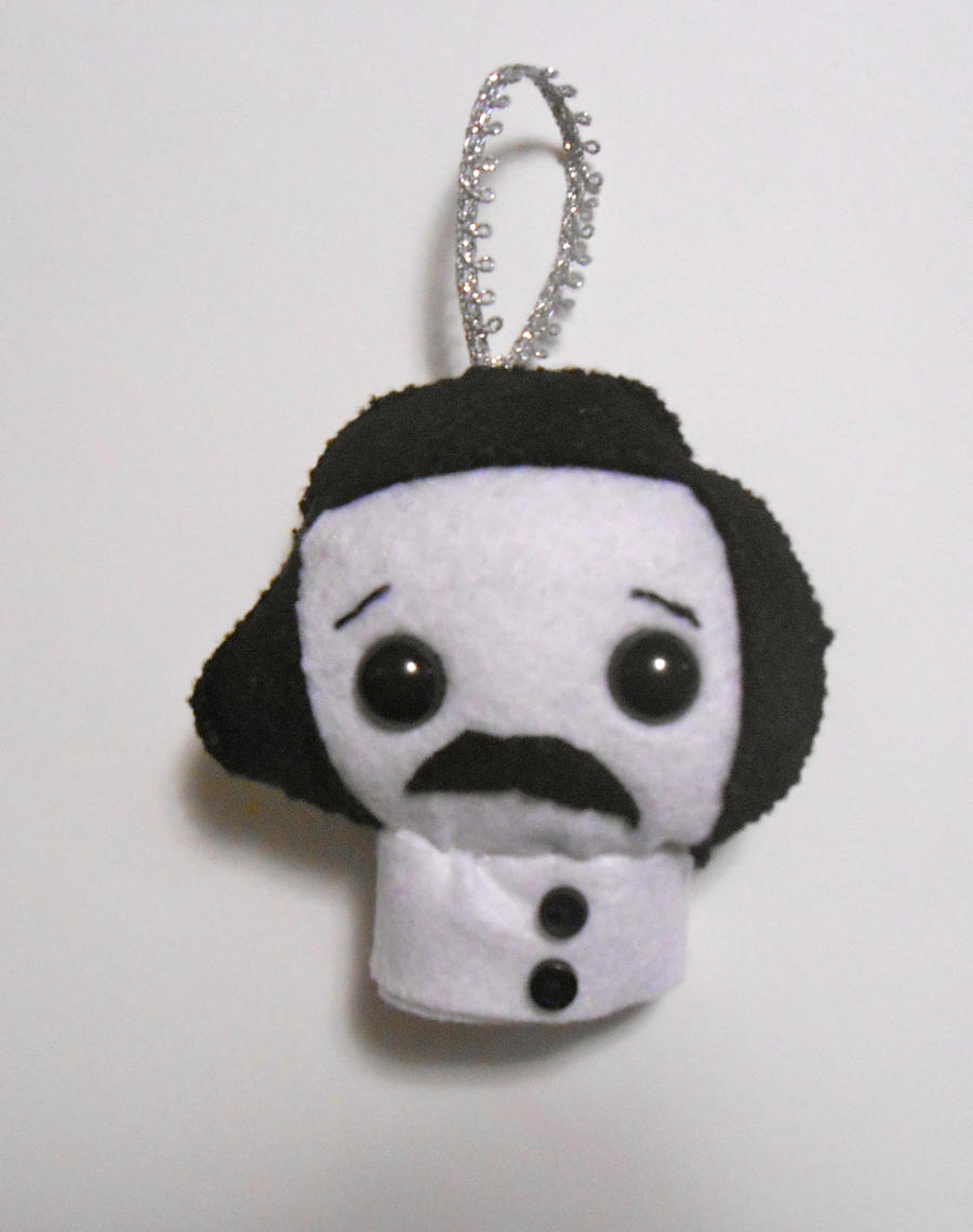 Kawaii Poe Ornament by kiddomerriweather