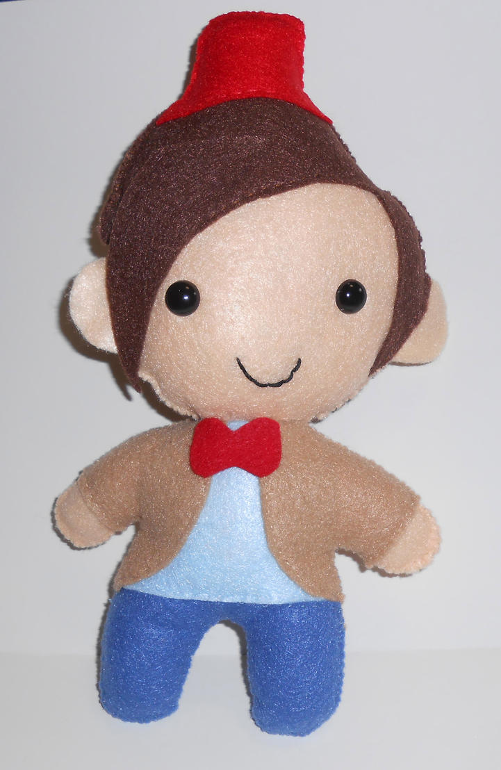 Eleventh Doctor Plushie by kiddomerriweather