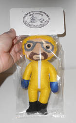 Heisenberg Plushie Commission Packaged