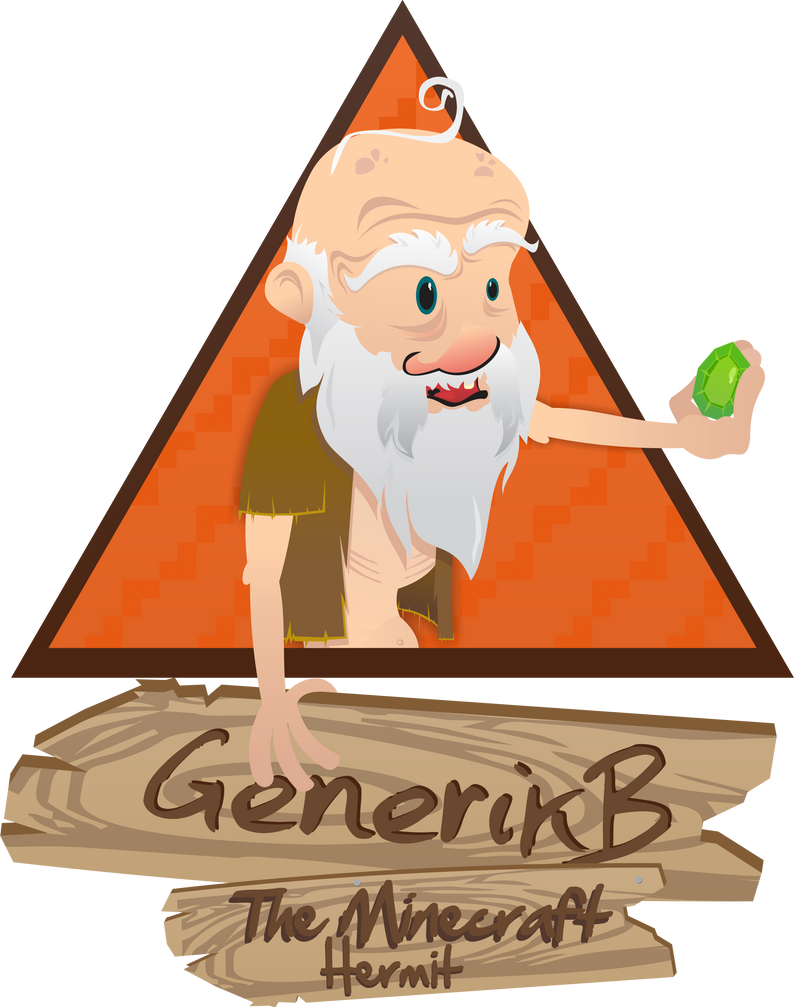 GenerikB : The Minecraft Hermit by kodychristian