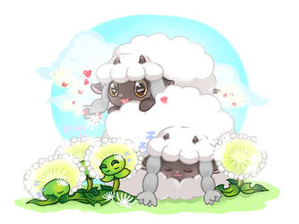WooLoo and Dandelion by RoyalUyenRuby