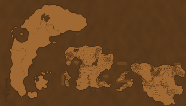 (WIP) Updated Map of Cray [2]