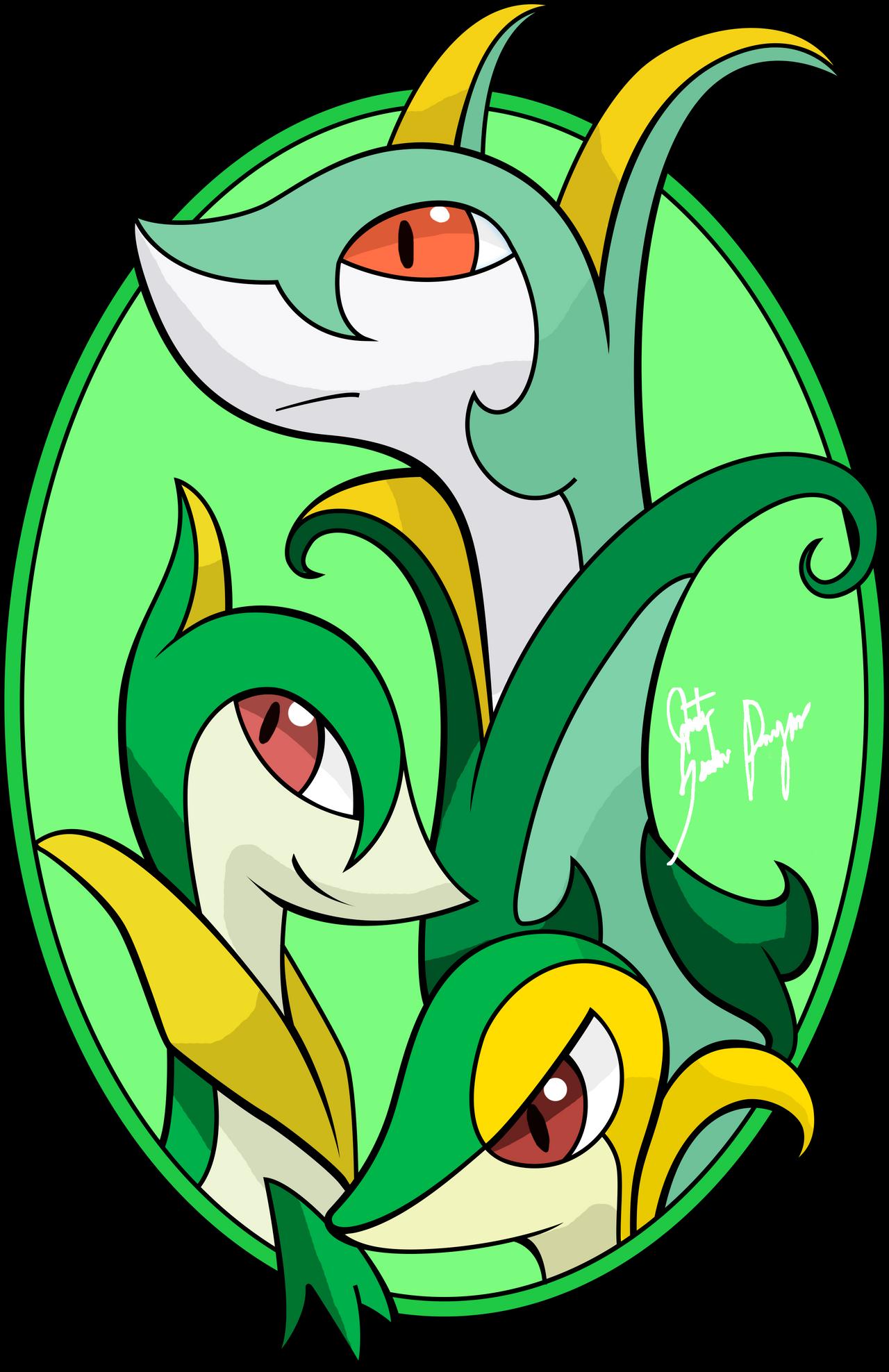 Reto pokemon 27 de tipo planta by silver dragon melove on - Tipos de plantas ...