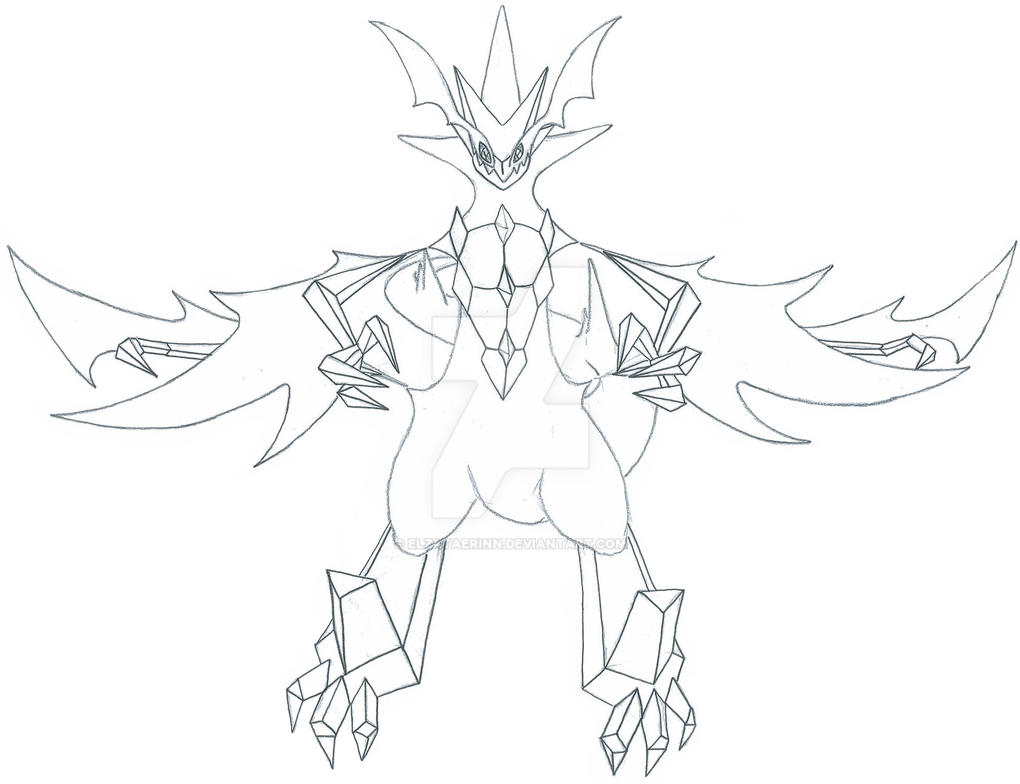 Pokemon Sun And Moon Ultra Adventures Coloring Pages Dawn Wings