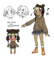 New Iiki-chan by Catlione
